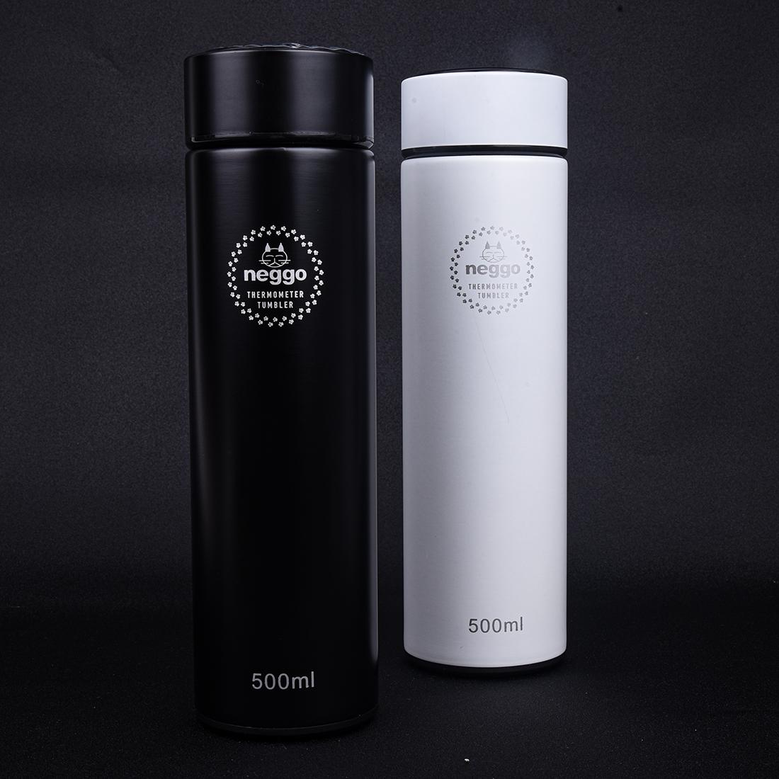 neggo 스마트 온도표시 터치 텀블러 500ml (보온병)