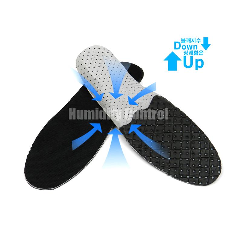 조습군 서큘레이션 깔창(프리사이즈) -발냄새와 신발속 습기잡는 기능성 깔창